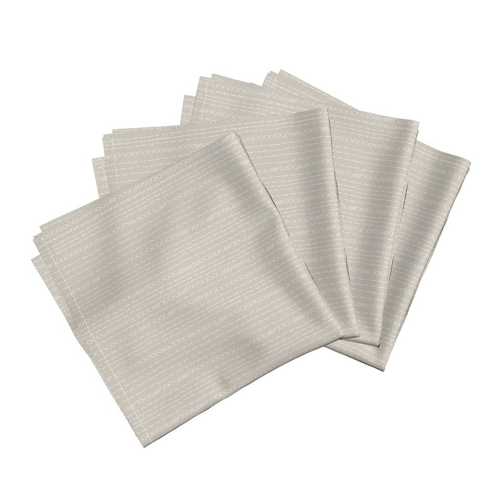 corset stitch atlanticdinner napkins - To the Roostery shop >>