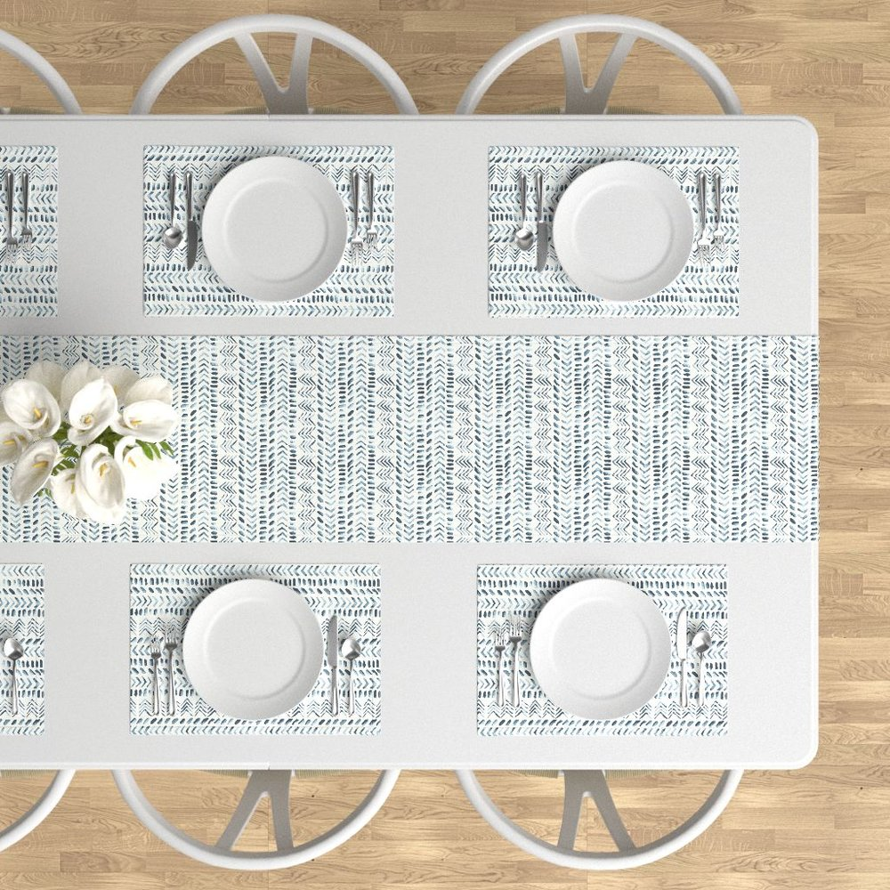 Ethnic table runner & place mats -