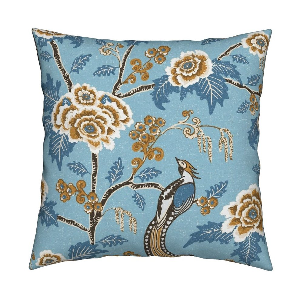 INDIAN ROSE PILLOW - To the Roostery shop >>