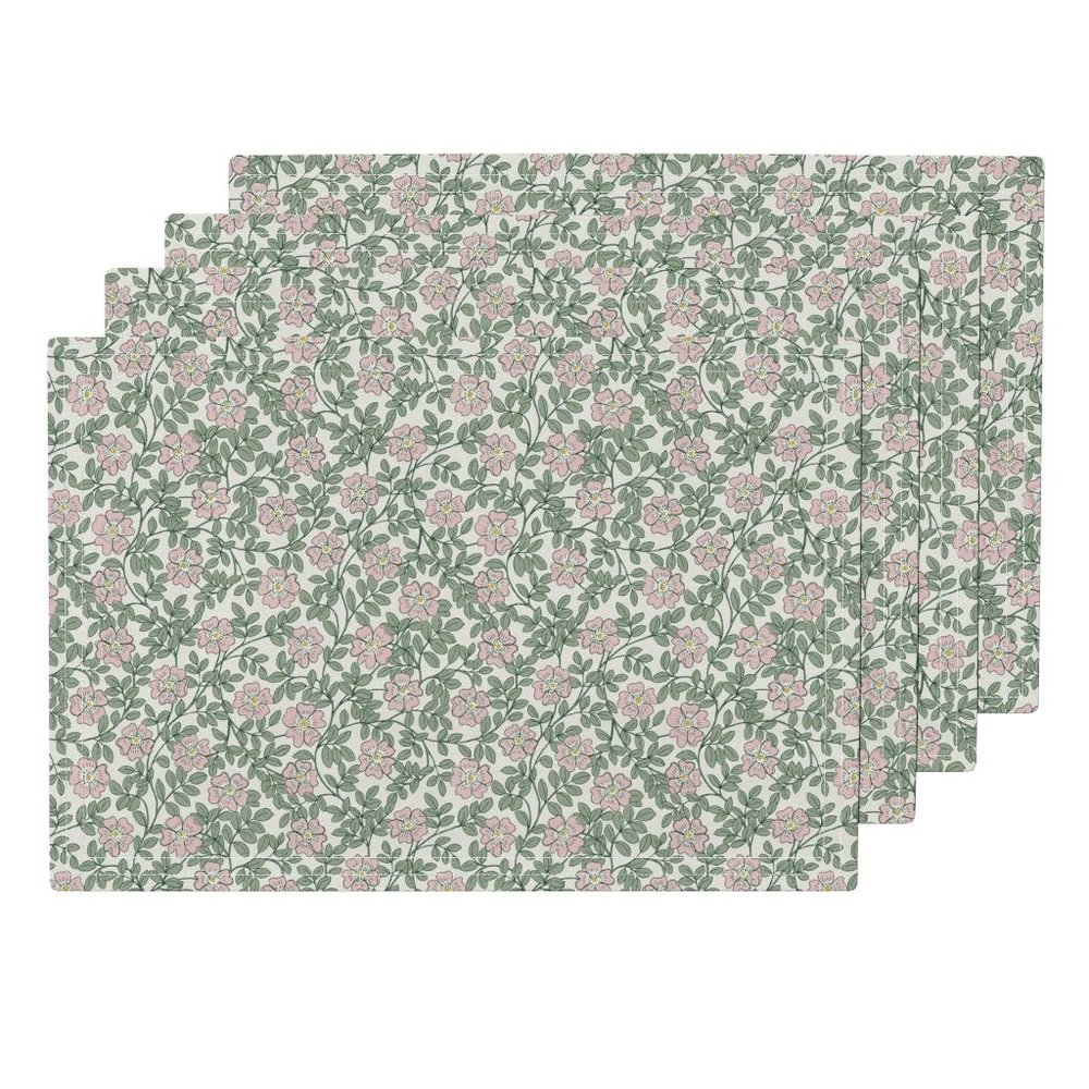 Morning Wild rosePlacemats - To the Roostery shop >>