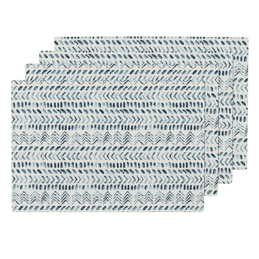 ethnic beach house placemats - To the Roostery shop >>