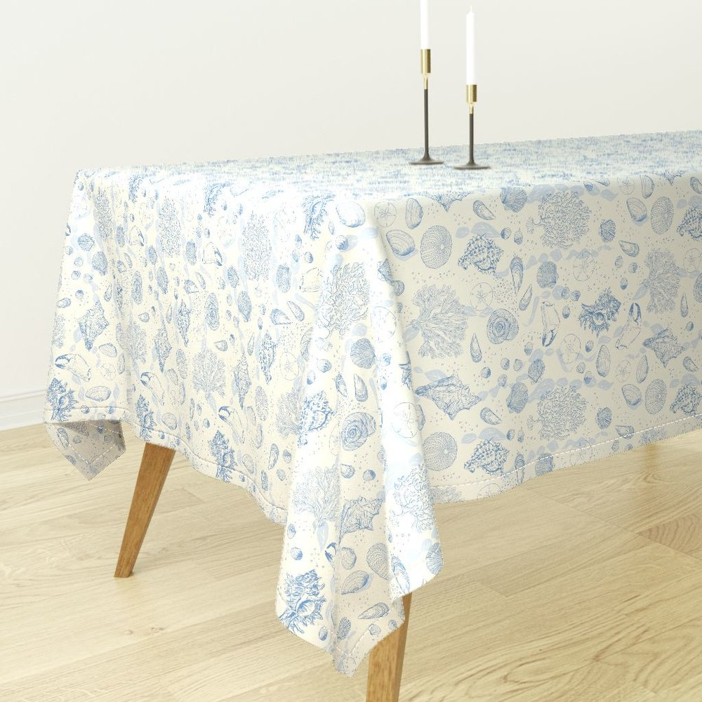 ocean sea toileTable cloth - To the Roostery shop >>