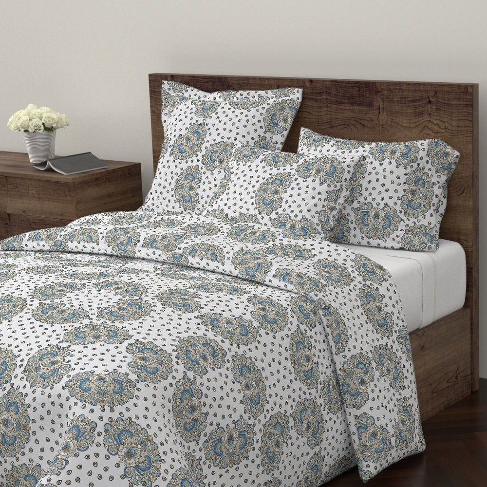 annika paisley atlanticduvet covers - To the Roostery shop >>