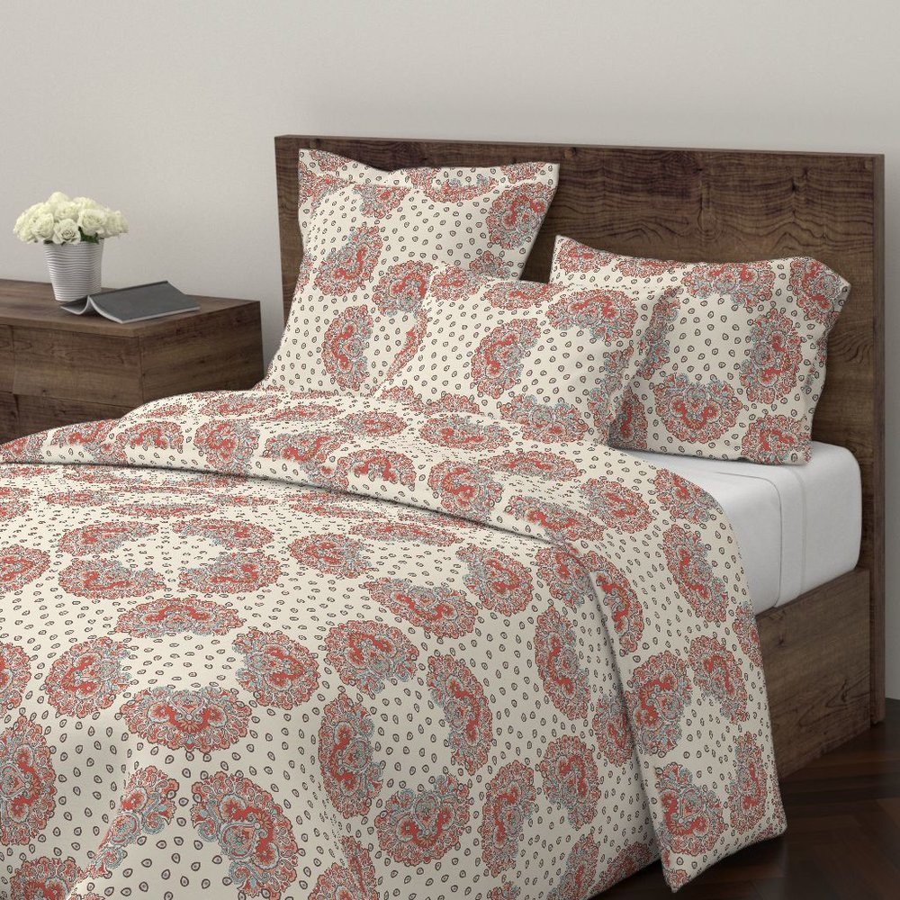 annika paisley pacificduvet covers - To the Roostery shop >>