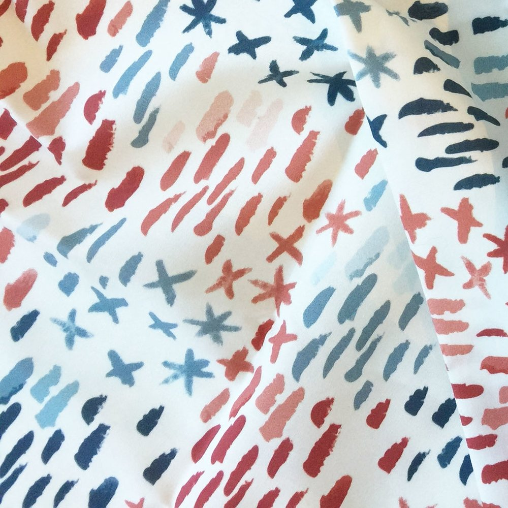 beach house shimmer - To the Spoonflower shop >>