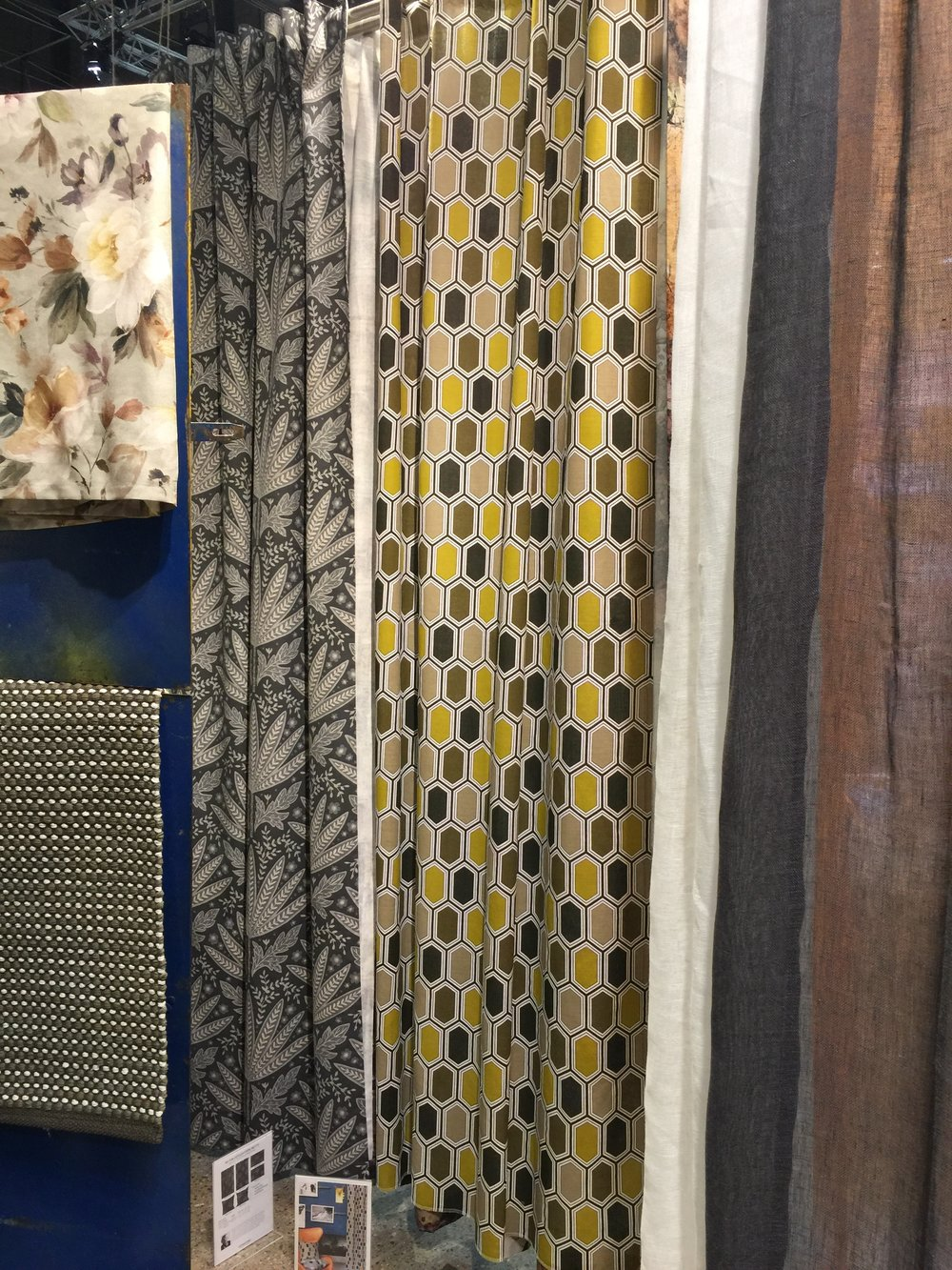 The Gemstone curtain in the Mustard color way stands out in a crowd.