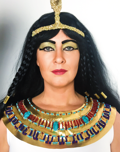 Cleopatras mugshots?