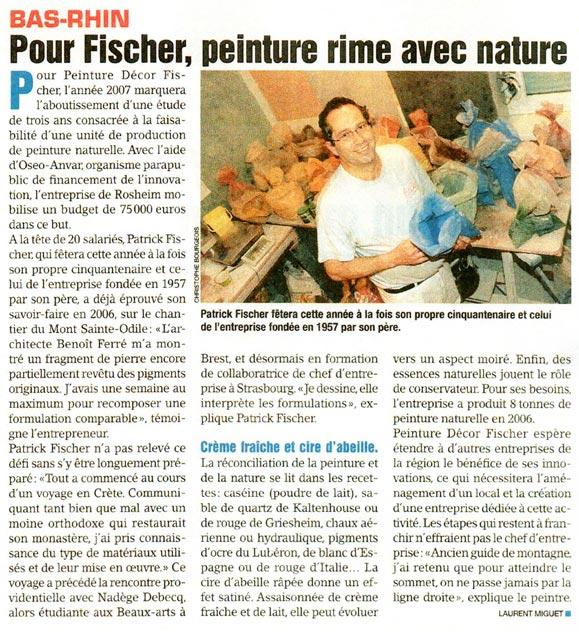 Le Moniteur - 26/01/07