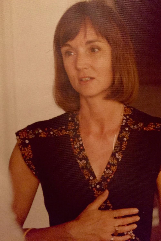 Mom in 1976