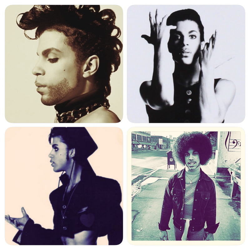 the many different stages of Prince