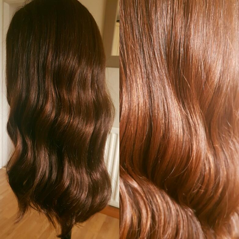 Follea F-Monde wig custom coloured