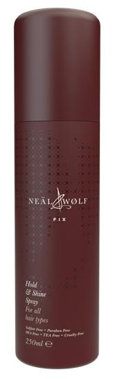 Neal and Wolf Fix, Hold and Shine Spray 250ml