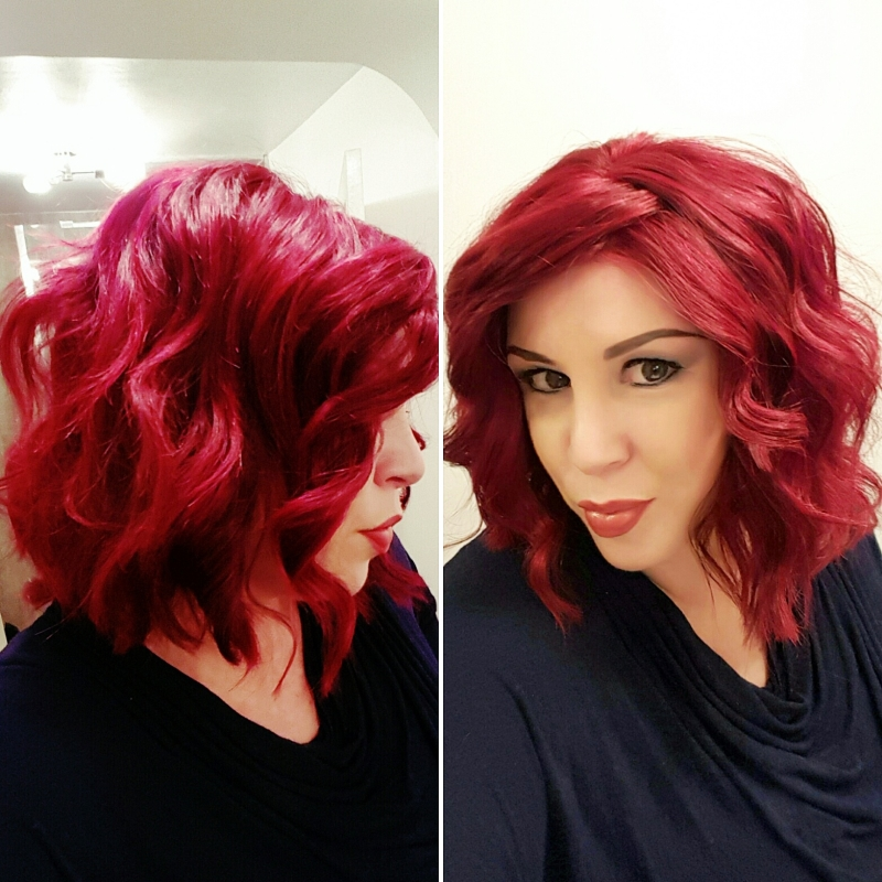 Jon Renau wig custom coloured by Vanessa