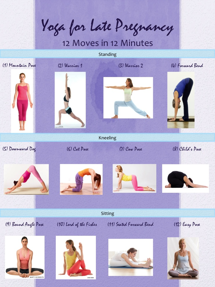 Yoga For Pregnancy 12 Moves In 12 Minutes Elm Tree Medical