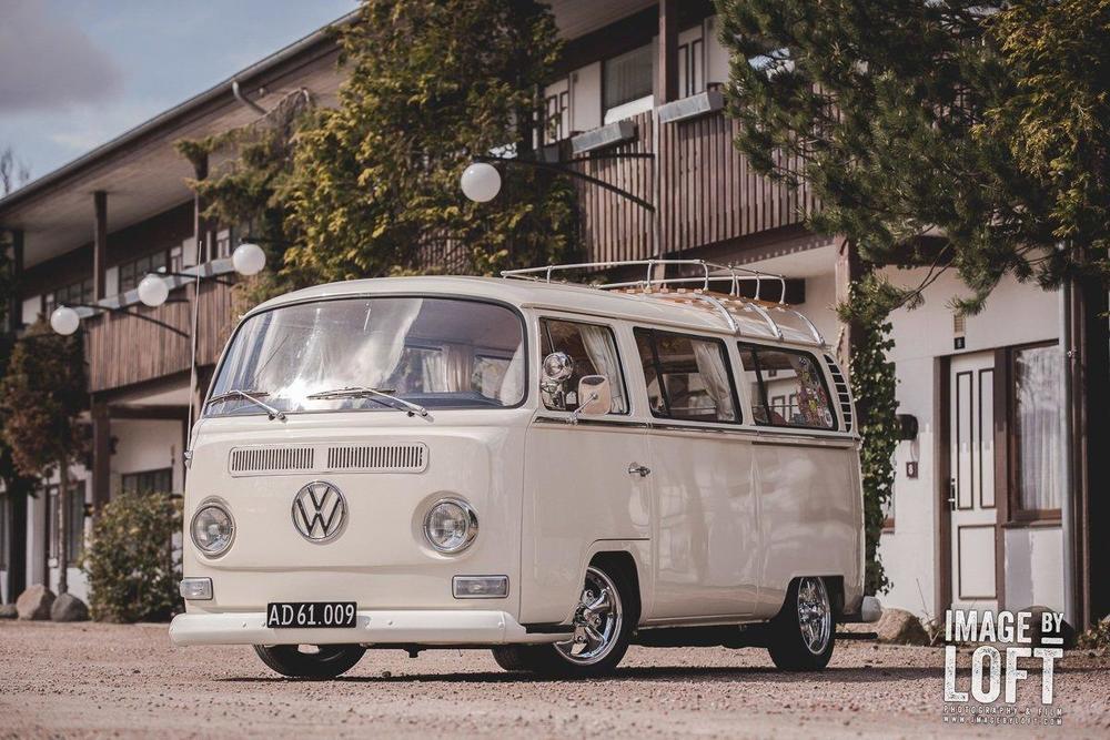 """VW T2 Camper Bus """"Ollie"""" fra '68 i vores første fotoshoot foråret 2013. Billederne er sidenhen blevet bagt i de nogle af de største bilmagasiner i Europa, så som Ultra VW (England), VW Scene (Tyskland) samt V-Max (Danmark)."""