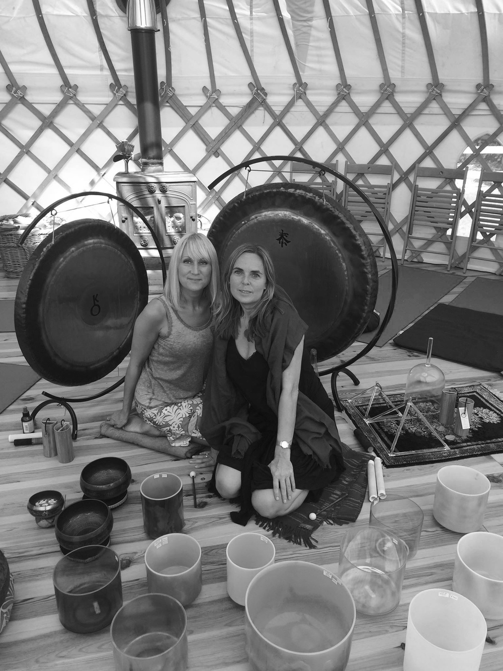 By appointment we can travel and create a beautiful Soundbath for you and your friends..