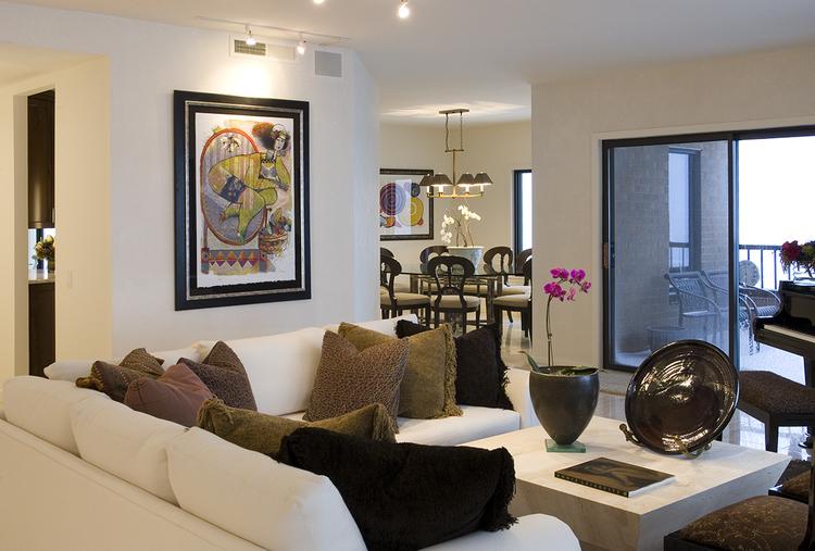 Elegant Family Room Remodel In Minneapolis, ...