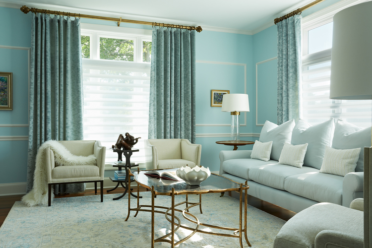 Bold and Blue Remodel for Eden Prairie Home MA Peterson