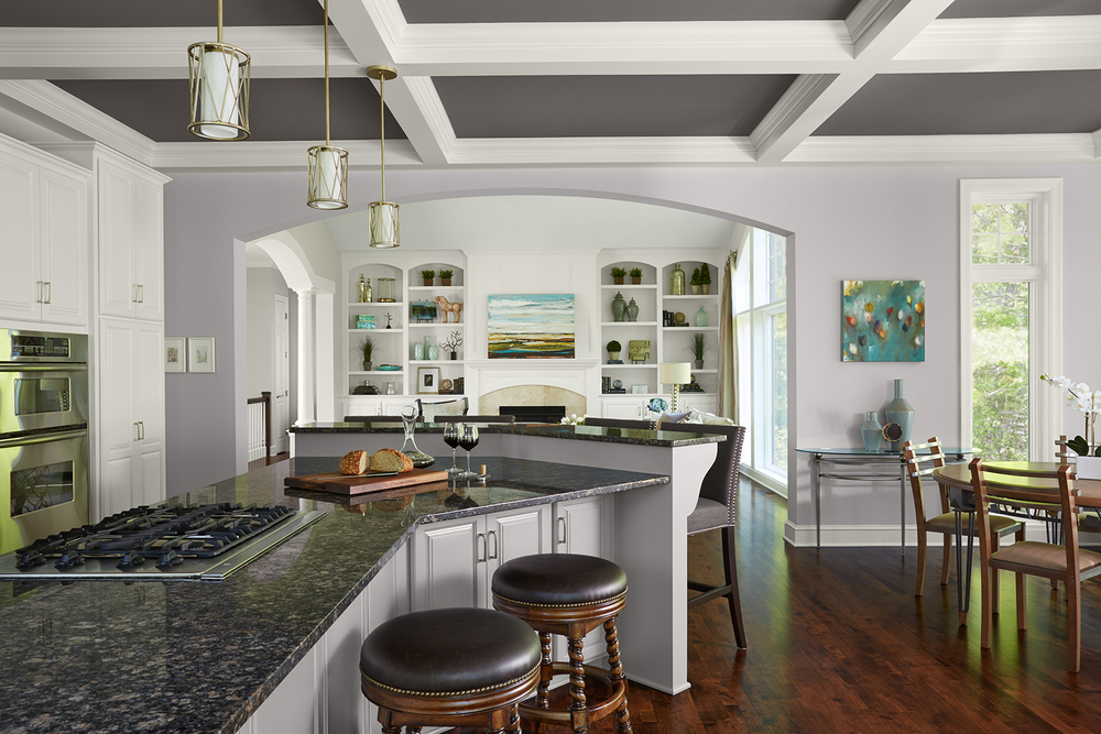 The kitchen is the place where family and friends gather; it's always been the centerpiece for conversation. This golf course Eden Prairie home had the layout of a beautiful kitchen, but needed a bit of RefreshRepair from it's 90's style.