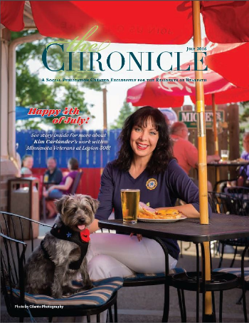 July 2016 Chronicle Cover