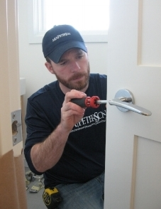 - Our RefreshRepair handyman, Jesse Hynes, maintaining home repairs.
