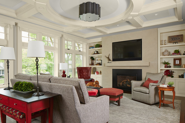 Great Room Remodels In Mn Ma Peterson Designbuild