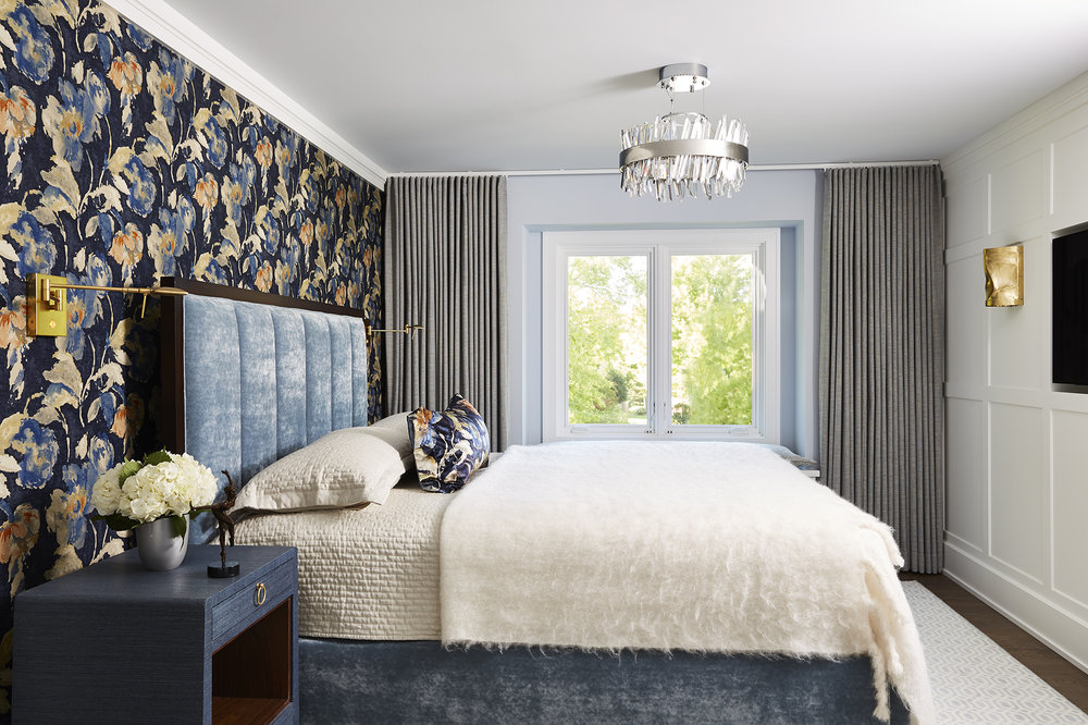 Plymouth Owner's Bedroom Goes Glam