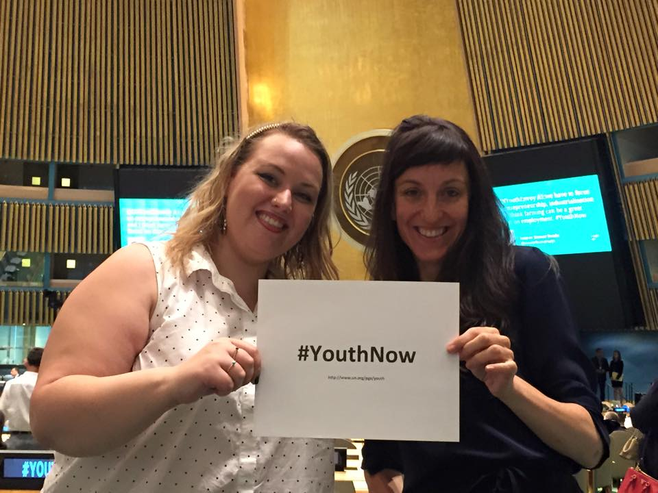 Zoe and Kristen from Footage - #YouthNow!