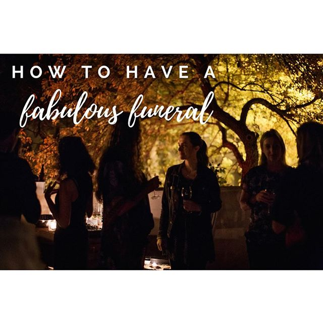 ✨TICKETS ON SALE✨ Sydney || 3 June || $65 Book your ticket now for our How to Have a Fabulous Funeral workshop. . Join us for a reflective, creative afternoon with 2 funeral planners from @picalunafuneral. Plus drinks, nibbles + excellent conversation. . It's an intimate workshop and numbers are strictly limited! Hope to see you there ✨(Link in bio)
