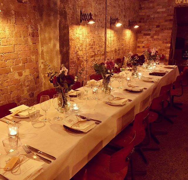 All set up and ready to go for a cosy private dinner recently! A beautiful night with a team of HR peeps and two outstanding speakers. We talked death + conversation, near-death experiences and death in the workplace. And 💯 food +🍷- thanks @folonomo ❤️ . Next event - How to Have a Fabulous Funeral workshop! Sydney 3 June ✨