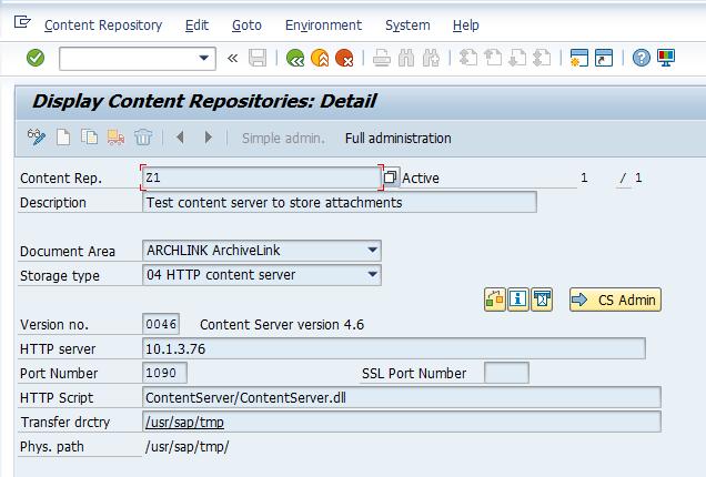 Definitie content repository