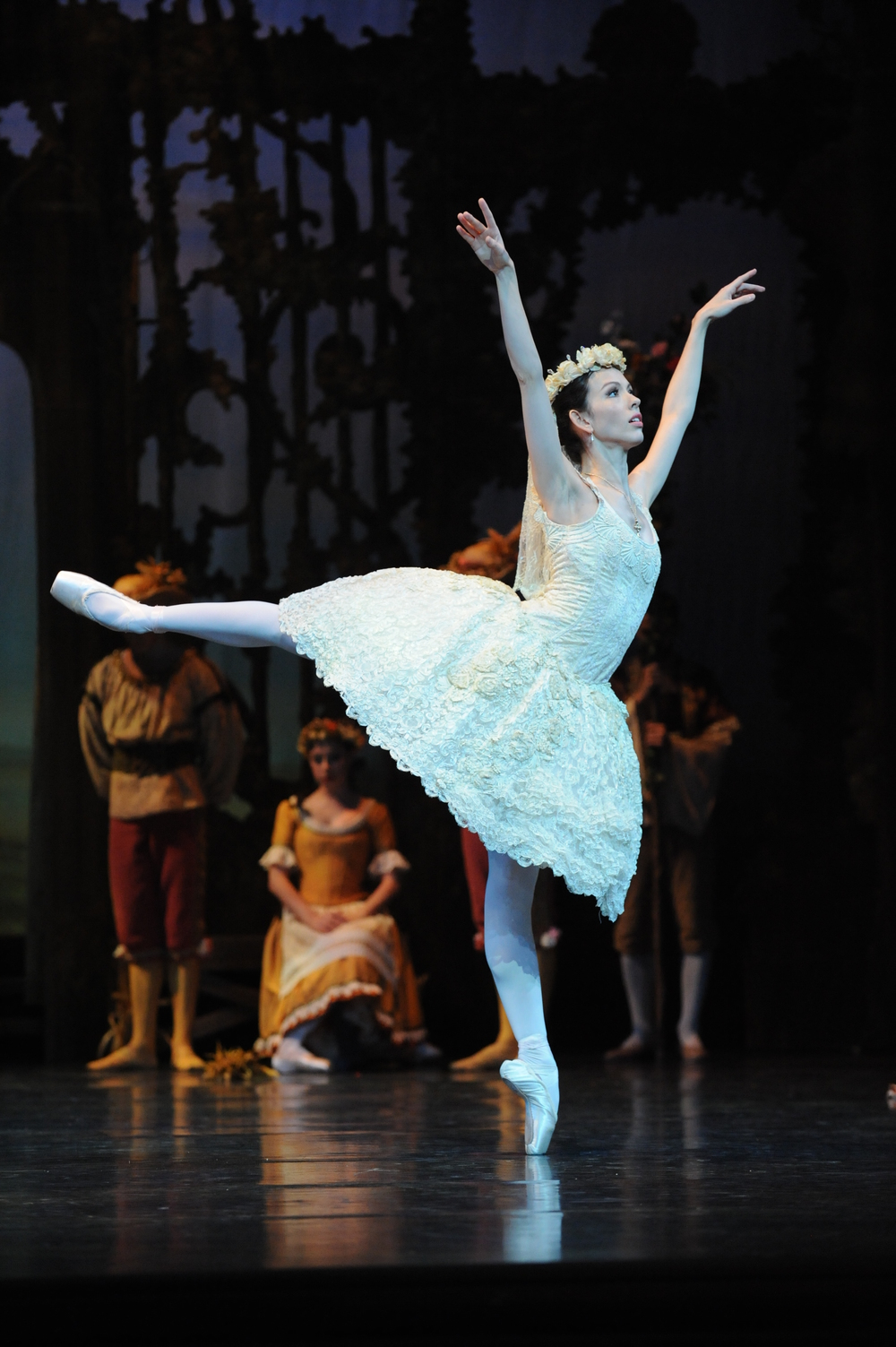 Juliet Burnett as Prayer in Peggy van Praagh's Coppelia