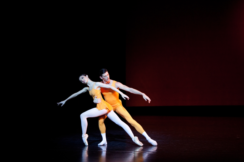 Juliet Burnett and Andrew Killian in Kenneth MacMillan's Concerto