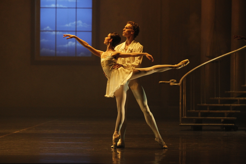 Juliet Burnett and Adam Bull in Stephen Baynes' Beyond Bach
