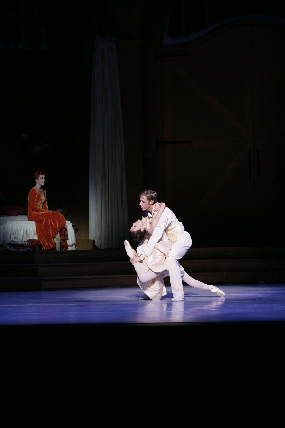 Juliet Burnett as Sophie with Ty King-Wall as Octavian in Graeme Murphy's The Silver Rose
