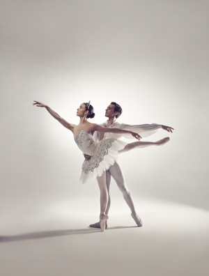 Juliet Burnett and Daniel Gaudiello as Bloch Ambassadors 2014