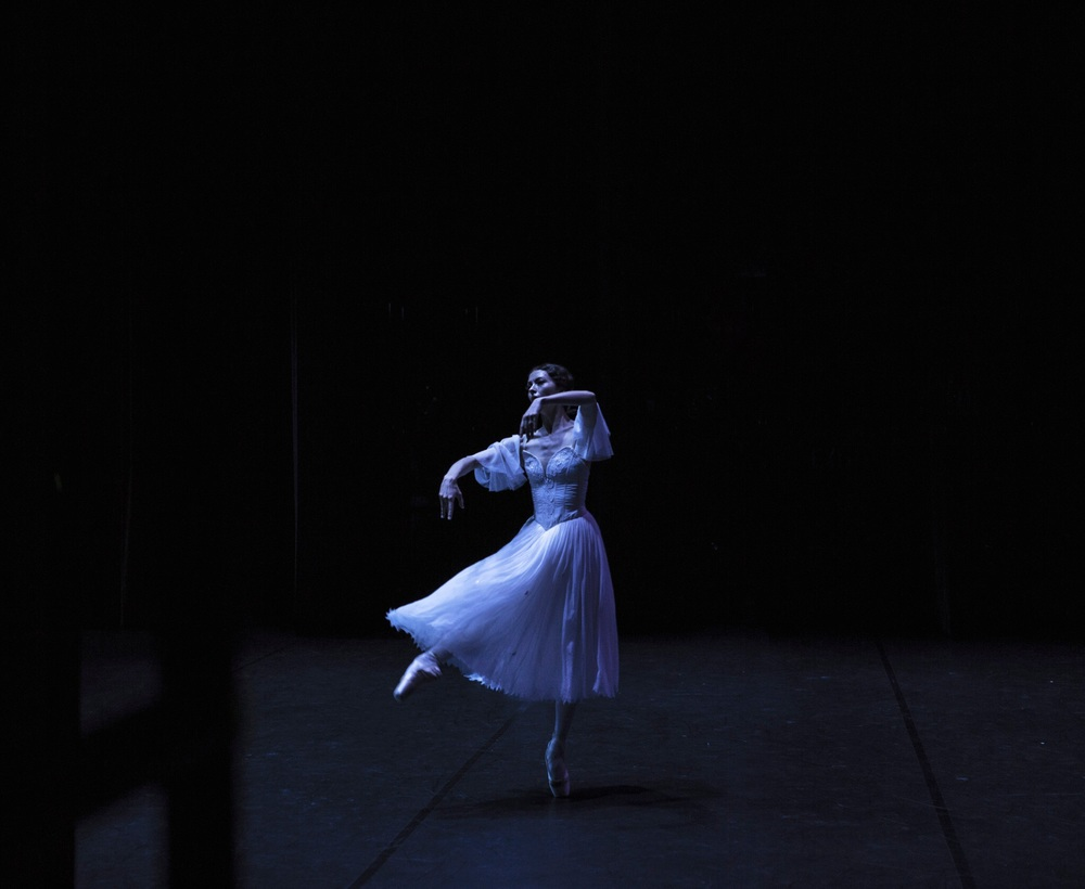 Juliet Burnett as Giselle at the Indonesian Ballet Gala 2015