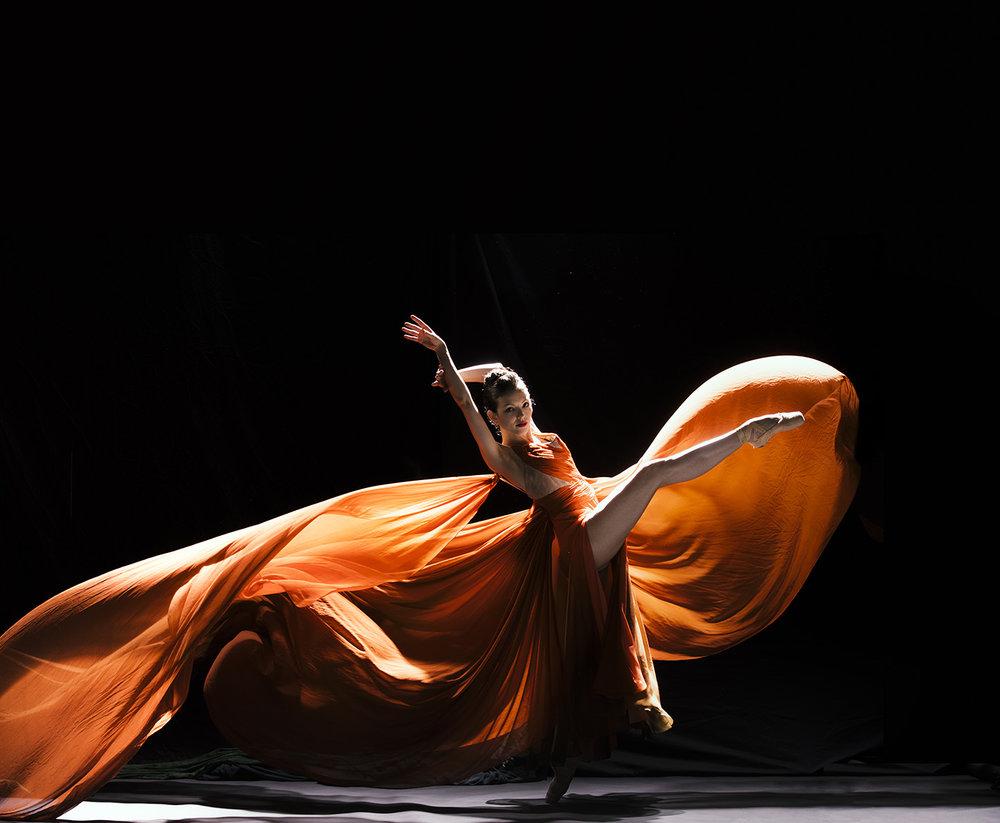 Juliet Burnett in Sidi Larbi Cherkaoui's Firebird