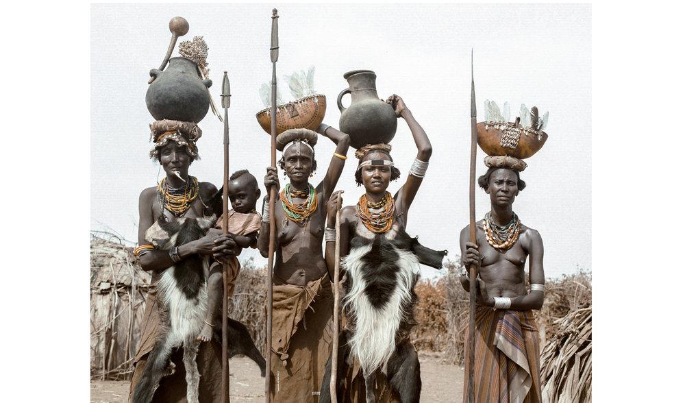 Daasanech tribe, Ethiopia 2012