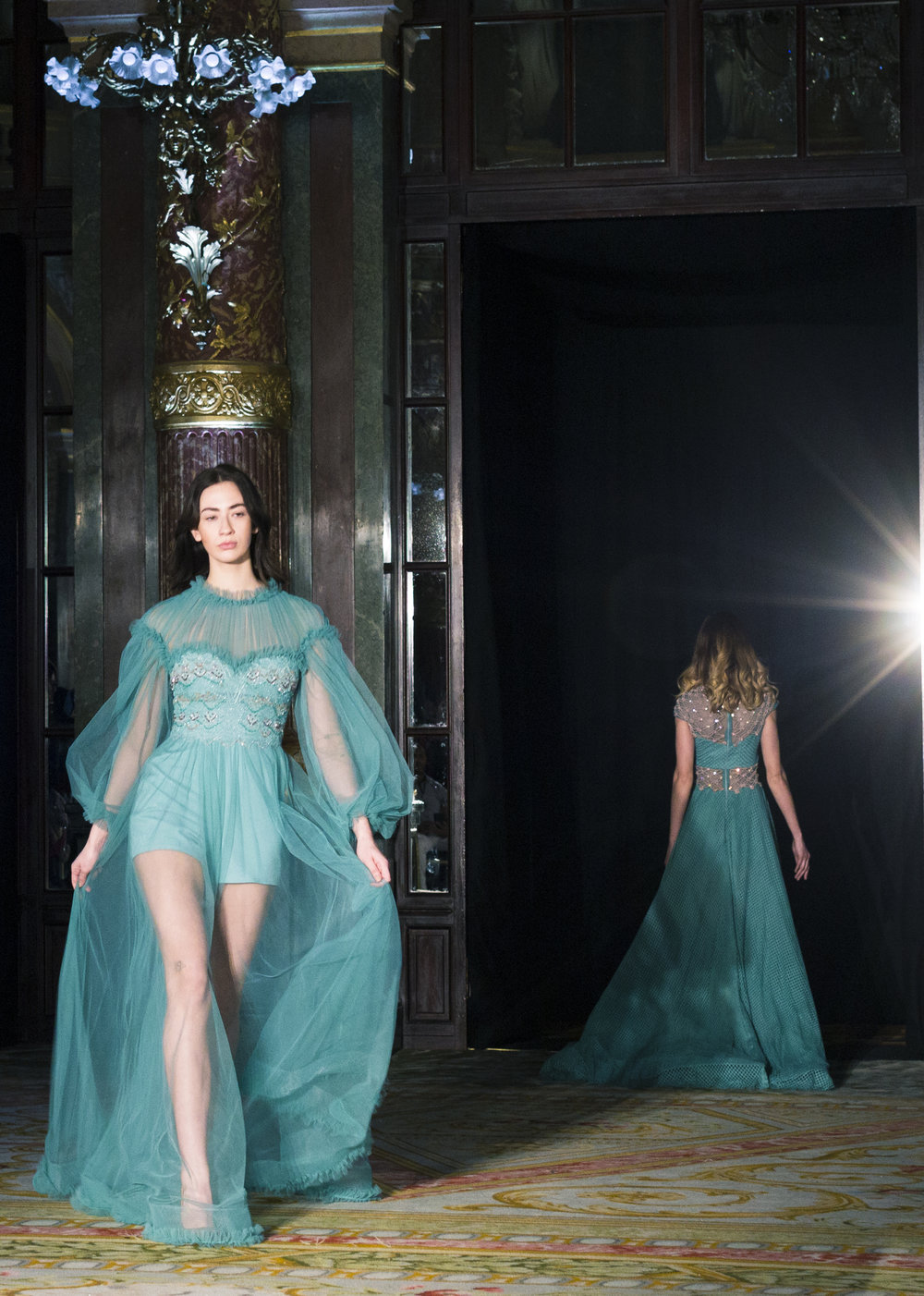 Rouba.G - Welcome to the world of Rouba.G at Le Grand Hôtel de Paris for the Pfw18