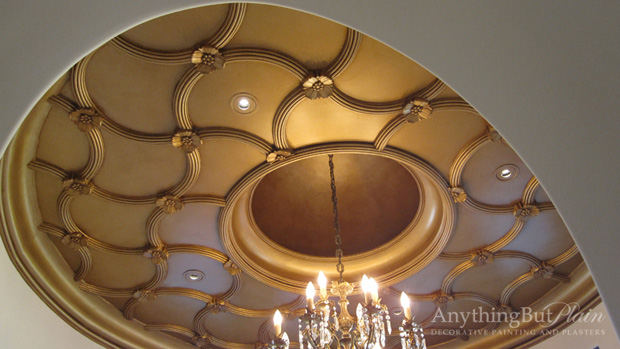 Anything But Plain groin ceiling design