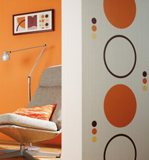 Orange Interior Design from http://www.interiorholic.com