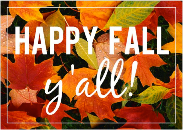 Happy Fall & Design Events