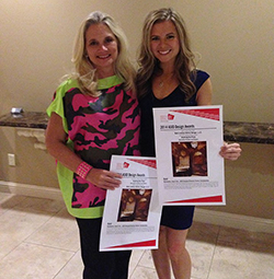 Kristi and Beth pose with ASID Award