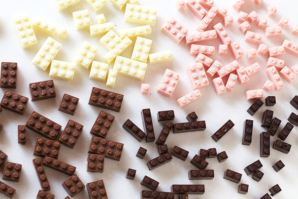 Chocolate Lego Art
