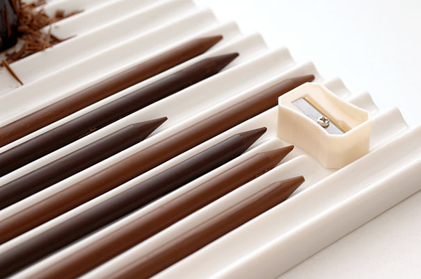 Chocolate Art Pencil Set