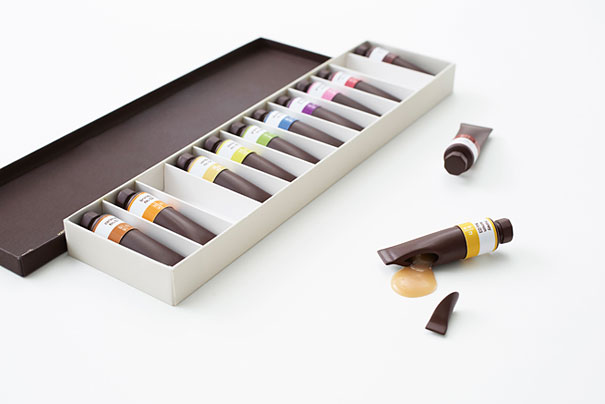Chocolate Art Paint Tubes