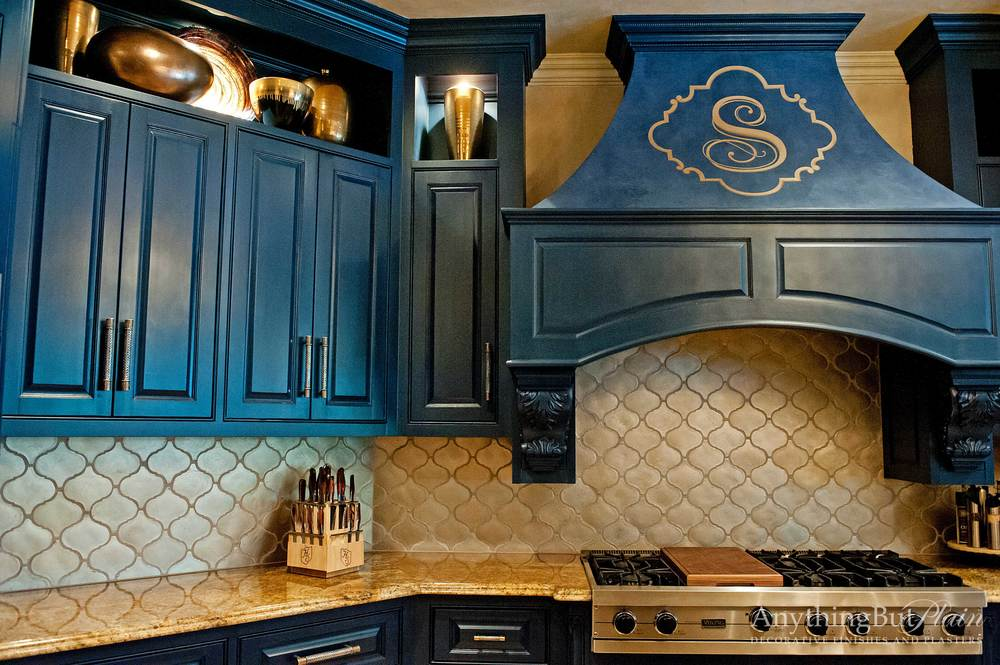 Beautiful Blue Kitchen