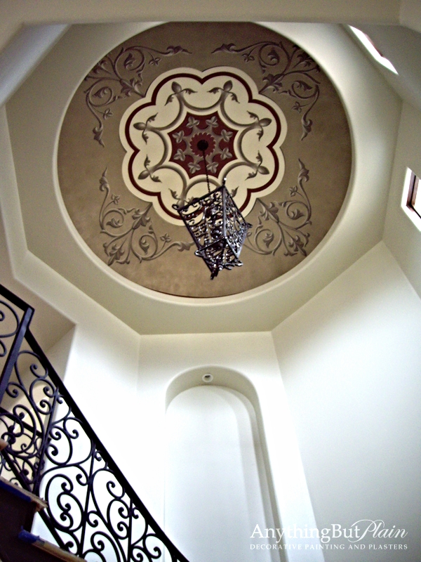 Hand-Painted Dome