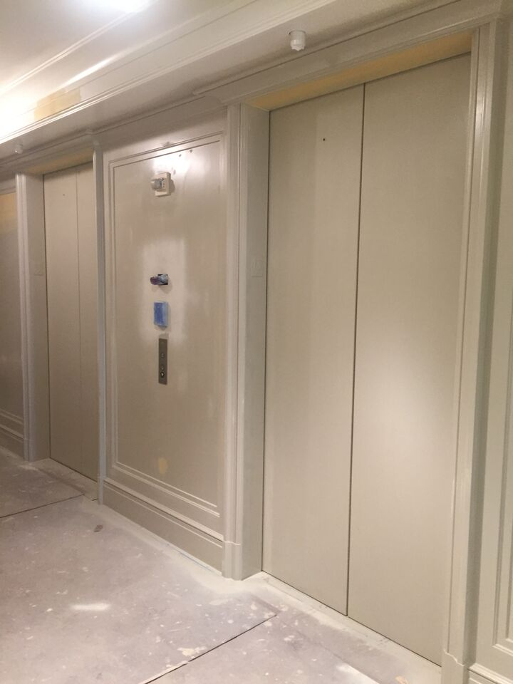 Elevator Doors Before